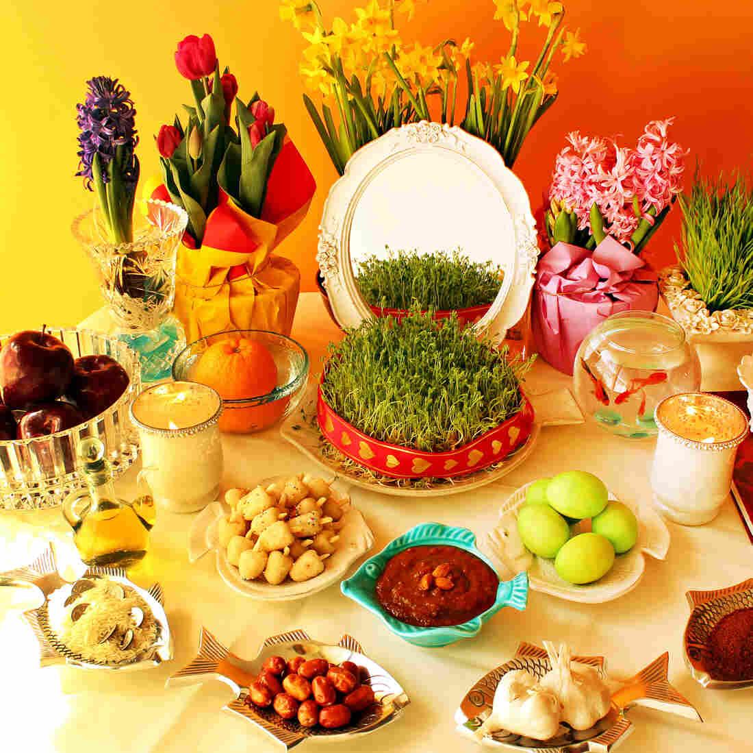 Persian New Year's Table Celebrates Nature's Rebirth Deliciously