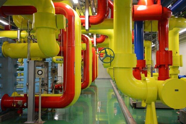 A Google data center in Changhua, Taiwan.