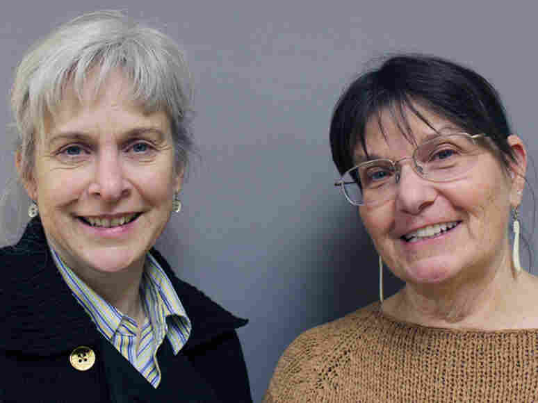Suzanne Bishop (left) and LJ Evans met while volunteering at an animal rescue center in Alaska after the Exxon Valdez spill in 1989.