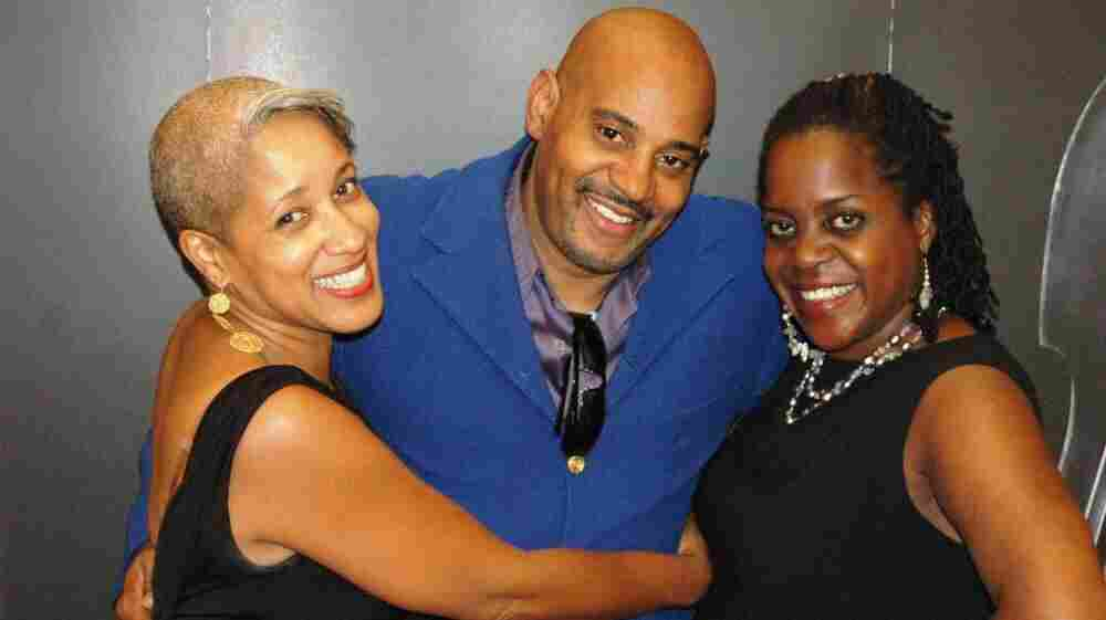 Left to right: Rene Marie, Allan Harris and Carla Cook.