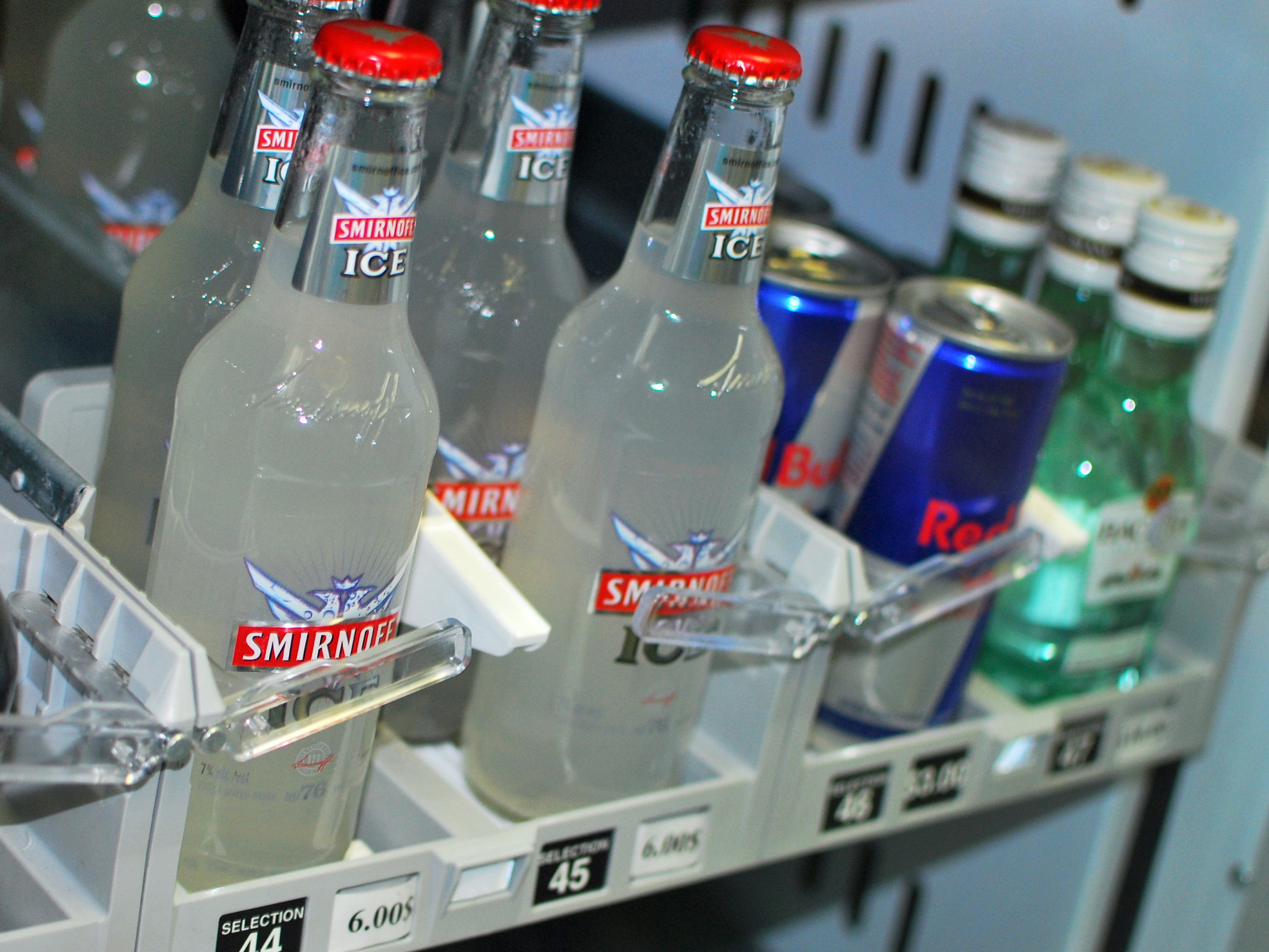 Smirnoff Ice malt beverages in sweet fruity flavors are popular among ...