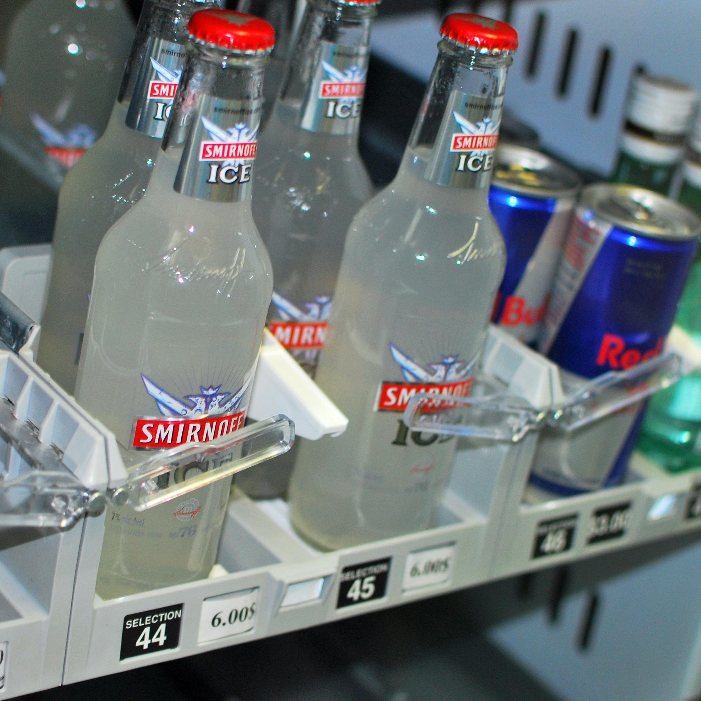 Smirnoff Ice malt beverages in sweet fruity flavors are popular among underage drinkers.