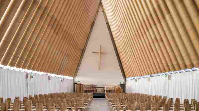 Cardboard Church, Christchurch, New Zealand.