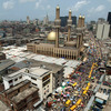 Nnamdi Azikiwe street, a commercial street in Lagos, Nigeria, Tuesday, 24 2005.