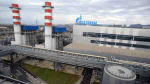 The Russian gas giant Gazprom's Adler thermal power plant in Sochi, Russia. Europe gets about one-third of its natural gas from Russia.