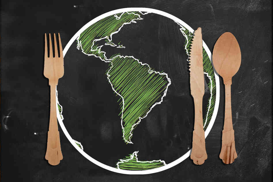 Here's one way to get students talking about global affairs: Teach it through food.