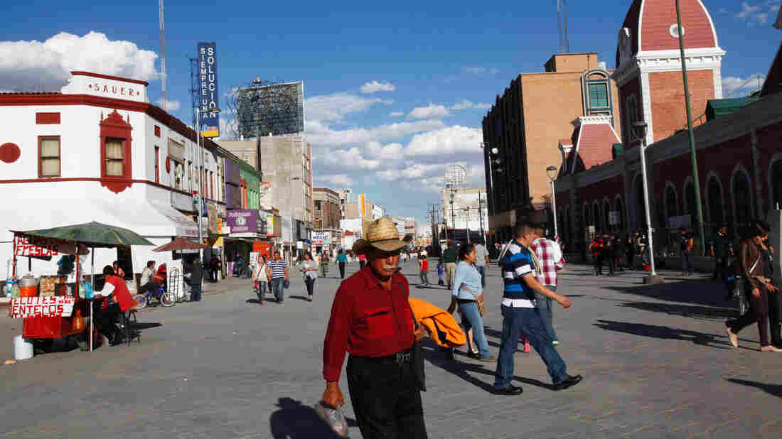 A few years ago, Juarez was known as the bloodiest battlefield in the drug war, where people were killed by the thousands and even dismembered. Today it's a city on the mend.