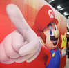 Iconic video game character Mario is shown in the Nintendo booth at the Game Developers Conference 2014 in San Francisco on Wednesday.
