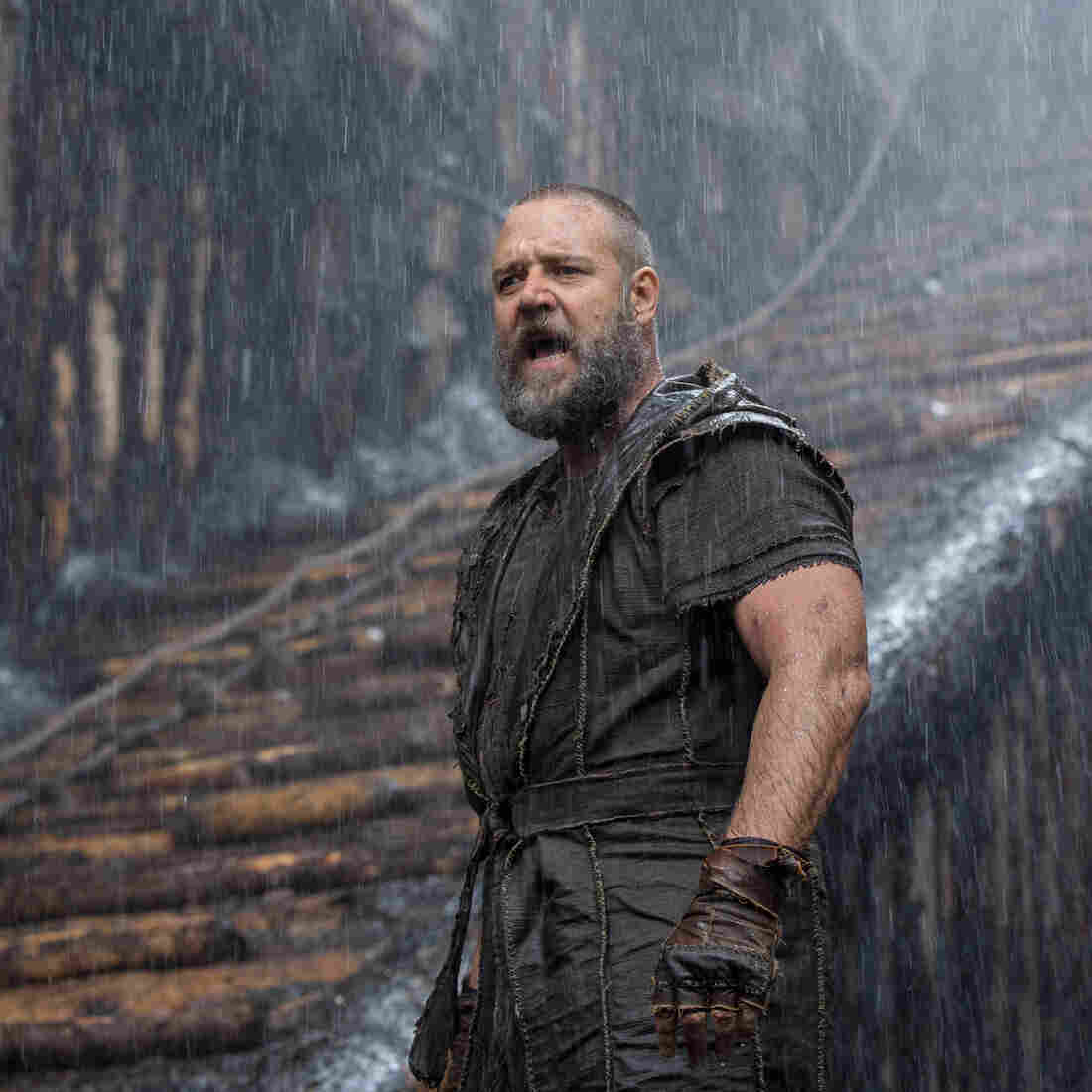 Russell Crowe, the lead in Darren Aronofsky's forthcoming biblical epic Noah, may have received a quick blessing from Pope Francis at a recent public audience, but the movie is drawing criticism in some quarters.