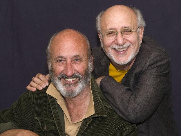 Noel Paul Stookey (left) and Peter