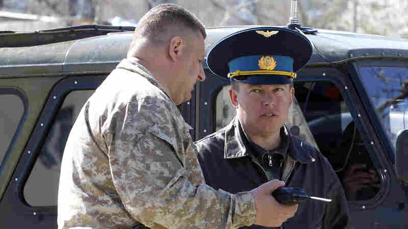 Major Ukrainian Air Base In Crimea Handed Over To Russia