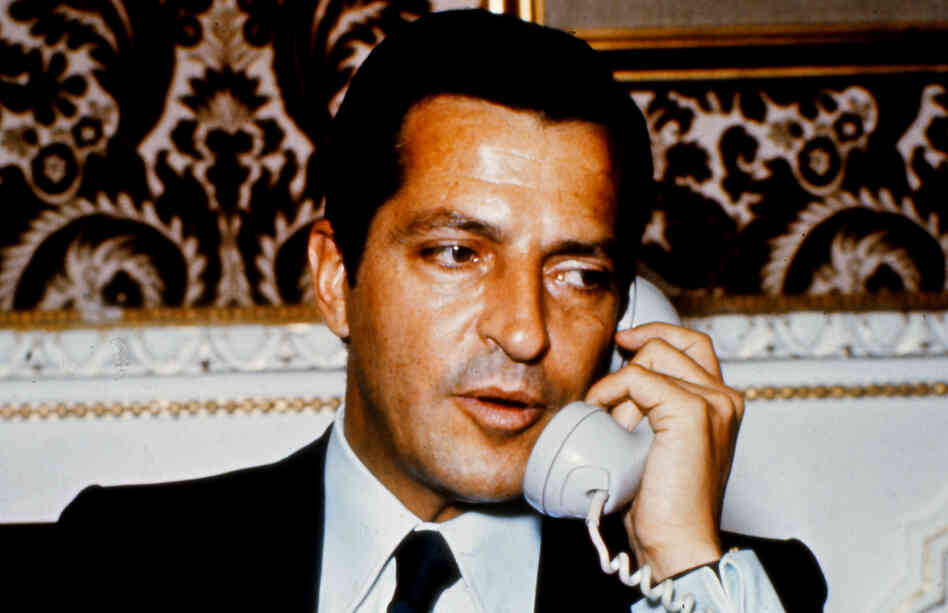 Adolfo Suarez, president of the Spanish government from