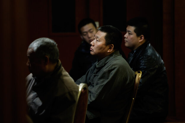 Chinese relatives of the passengers onboard Malaysia Airlines