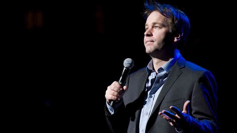 Mike Birbiglia started his career as a server and fill-in comic at a comedy club in college.