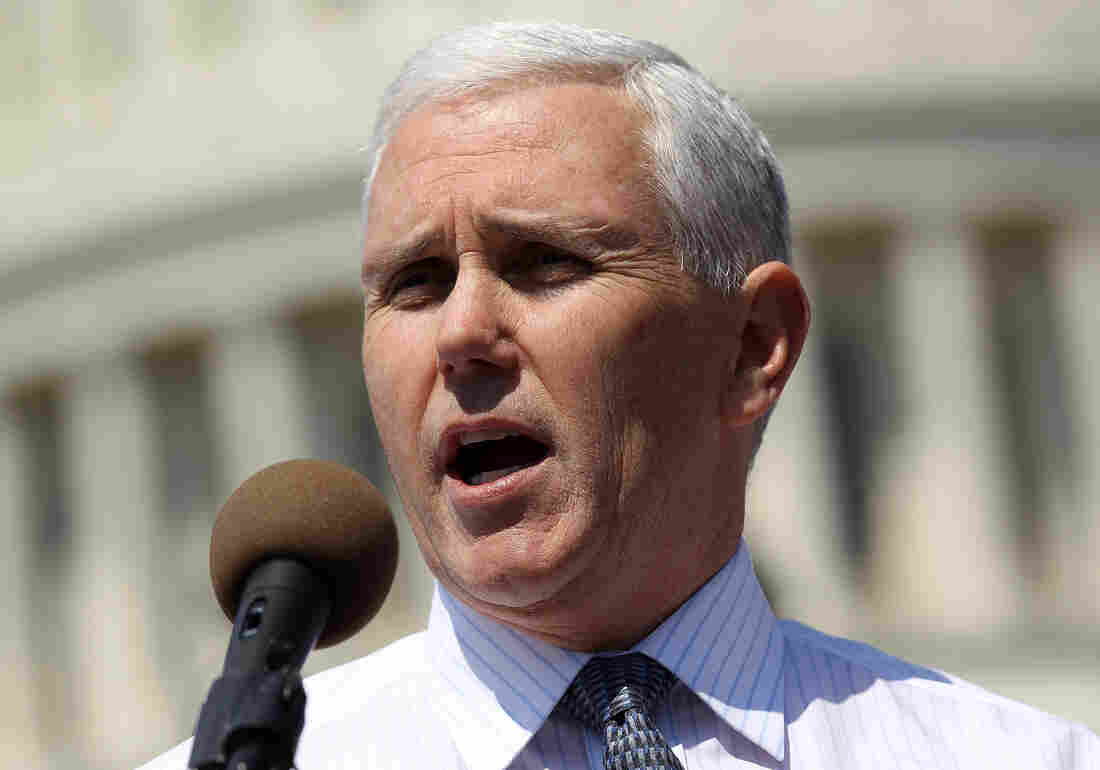 Mike Pence, in 2011, when he was a congressman.