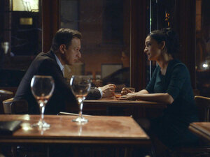 "Josh Charles as Will Gardner and Archie Panjabi as Kalinda Sherma on The Good Wife. In a word, ""Ugh."""