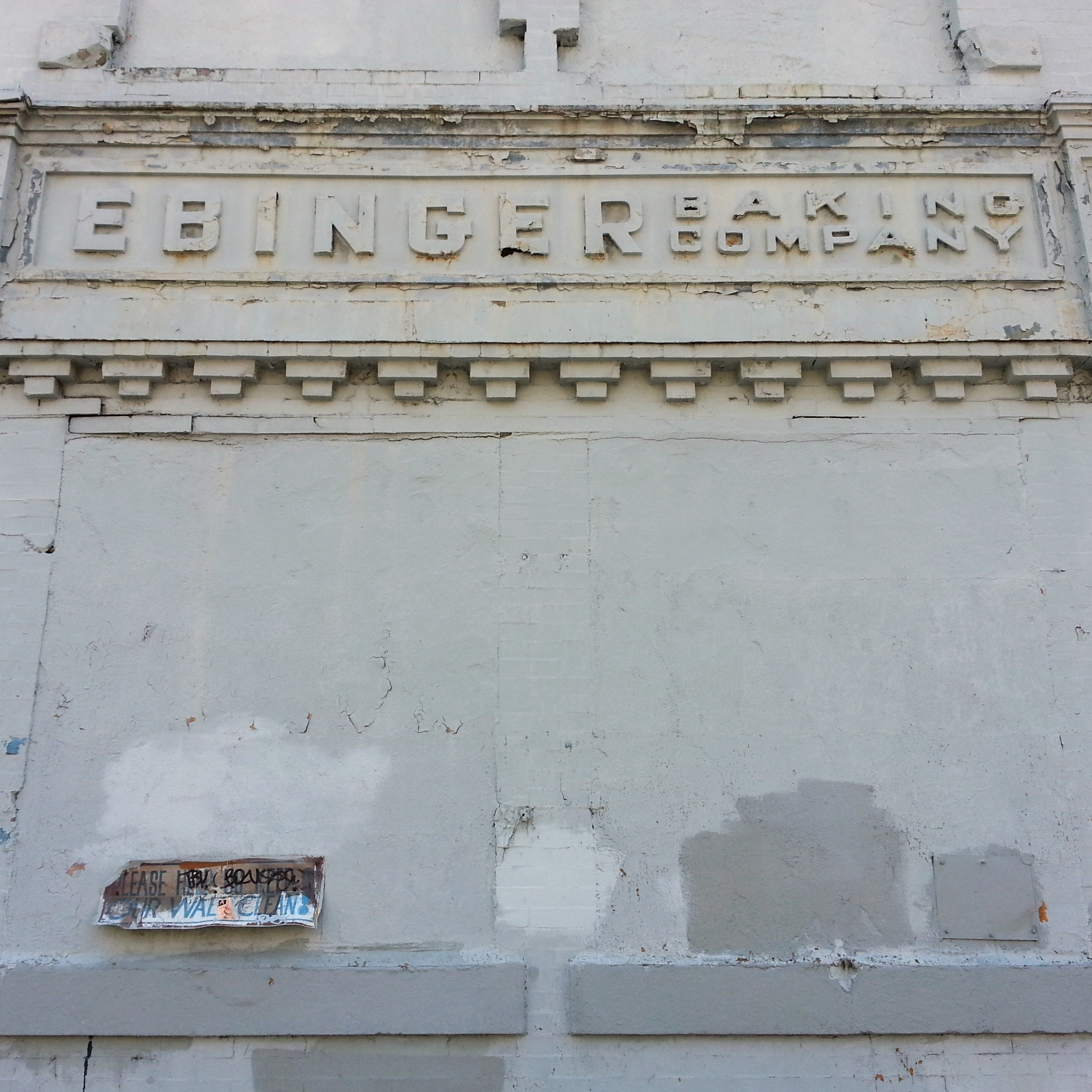 Bankrupt and abandoned, the remaining locations of the Ebinger Baking Co. stand as monuments to chocolate long gone.
