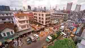 A view of Jankara Market in Lagos, Nigeria.