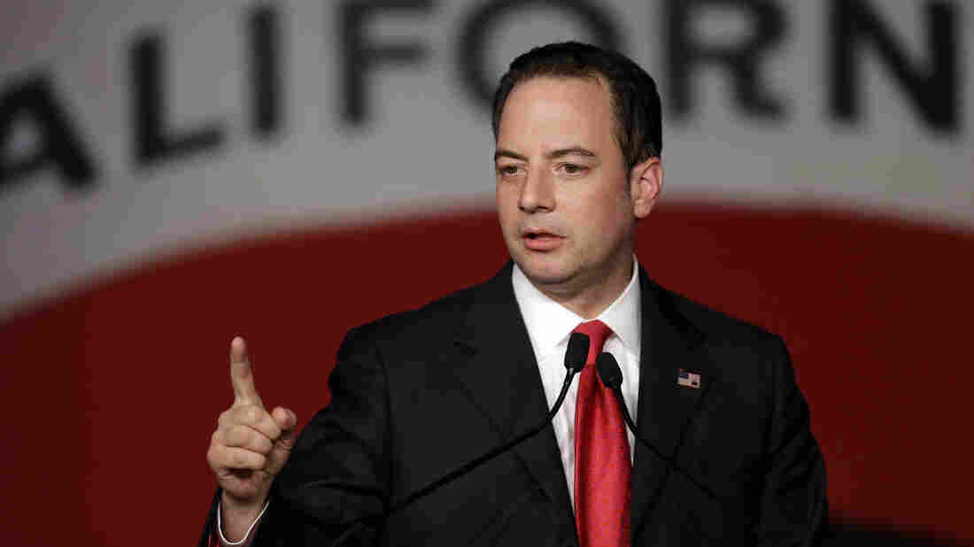 Republican National Committee Chairman Reince Priebus, speaking before the California GOP spring convention, said recently he doesn't lament the end of public funding for national political conventions.
