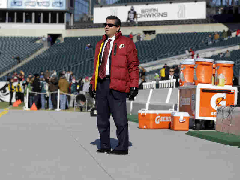 """Daniel Snyder, the Washington Redskins' owner, pointed to support from Native officials: """"They have genuine issues they truly are worried about, and our team's name is not one of them."""""""