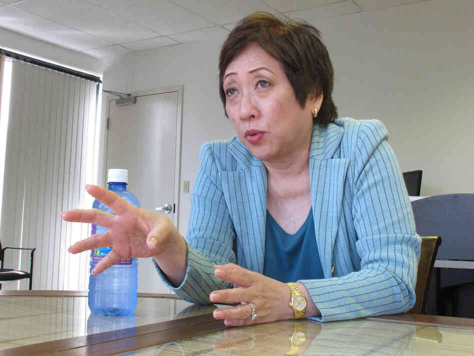 U.S. Rep. Colleen Hanabusa of Hawaii says the way her competitor's allies have made age an issue in her run for U.S. Se