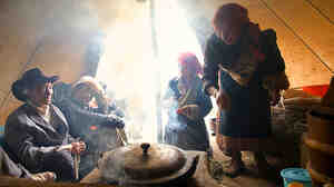 Many people like these Tibetans in Qinghai, China, rely on indoor stoves for heating and cooking. That causes serious health problems.