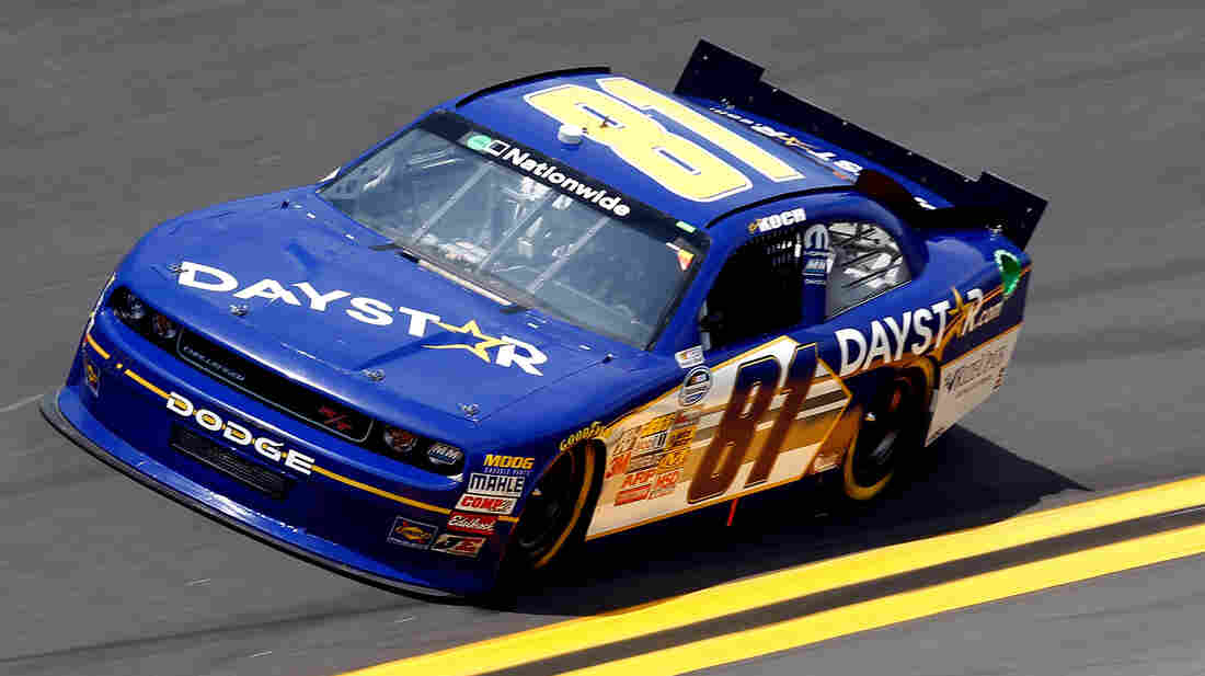 Daystar has spent $572,154 from nondonation ministry income to pay for sponsorship and expenses of Christian NASCAR driver Blake Koch.