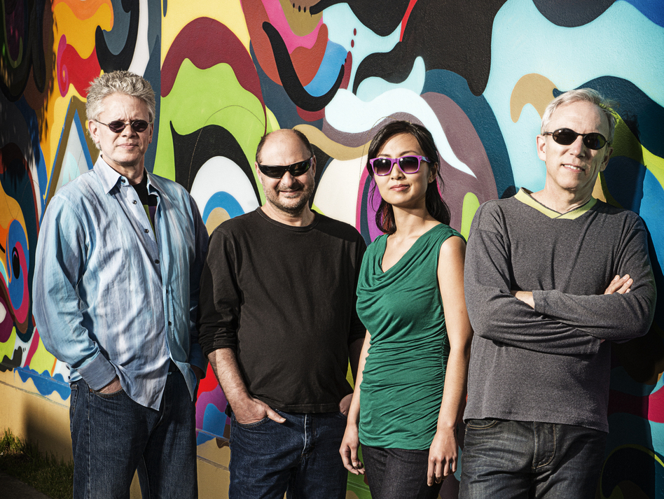 The Kronos Quartet (from left): David Harrington, John Sherba, Sunny Yang and Hank Dutt.