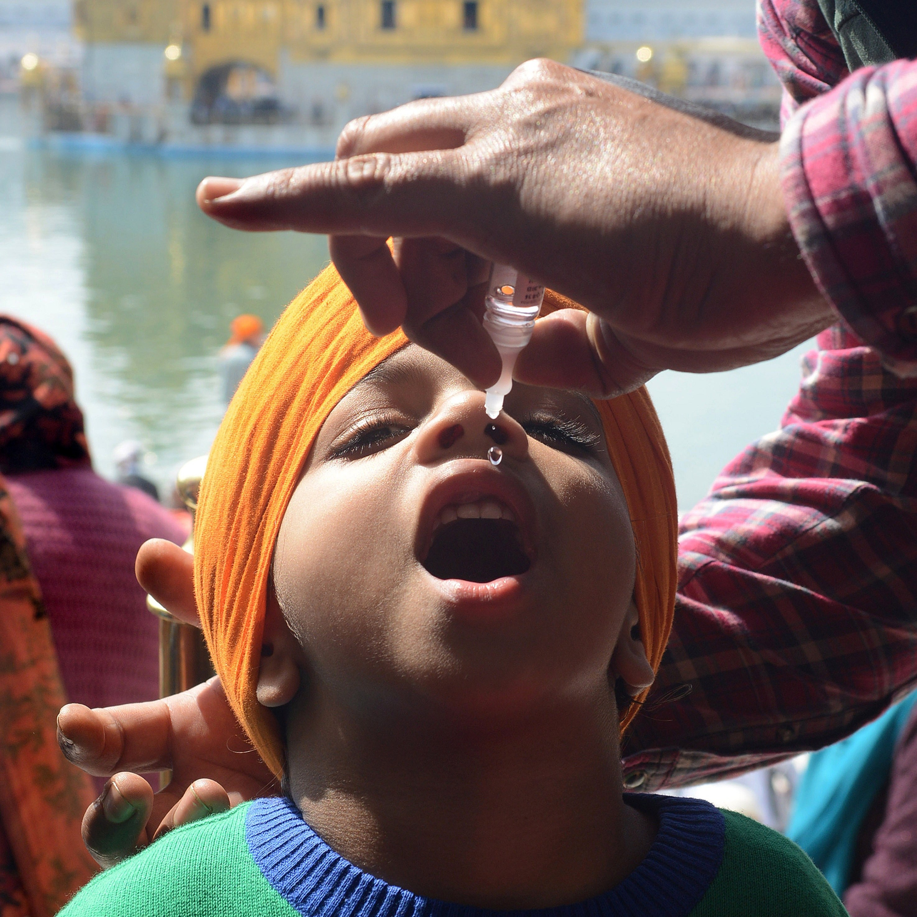 Although India reported its last polio case three years ago, vaccination campaigns continue across the country.