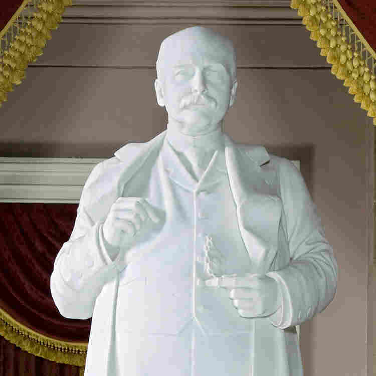 "Sen. George Shoup, who died in 1904, was Idaho's first governor. ""He protrudes,"" says Senate historian Don Ritchie. ""This was the epitome of success in the late 19th century."" But the link between corpulence and power would cast a dark shadow within the halls of Congress."