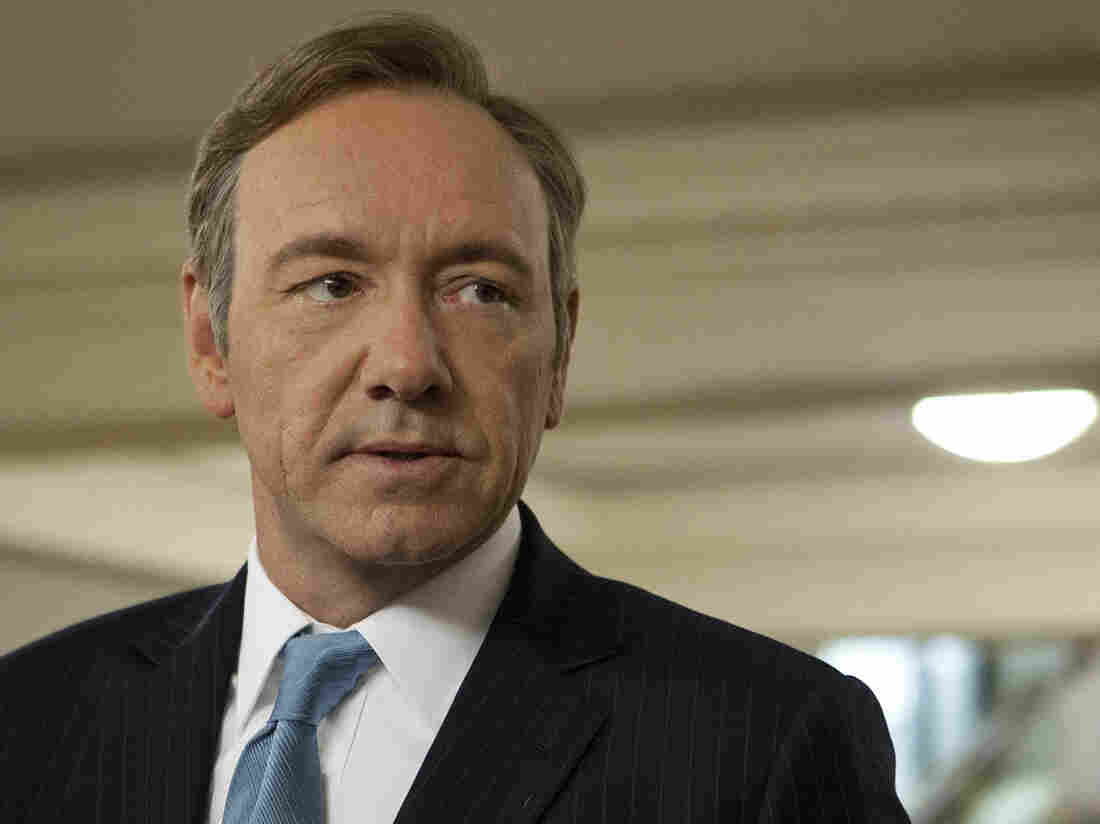 Kevin Spacey stars in the Emmy-nominated House of Cards.