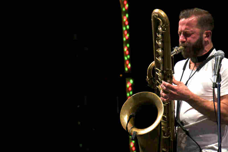 Colin Stetson at Kennedy Center's Millennium Stage.
