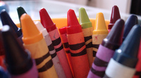 Can race and ethnicity be represented by the colors found in a crayon box?