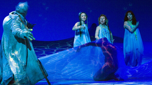 Gods, monsters and Rhinemaidens populate Richard Wagner's 16-hour epic Ring cycle.