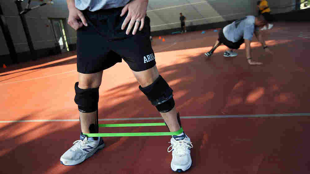 Orthotic Brace Takes Soldiers From Limping To Leaping