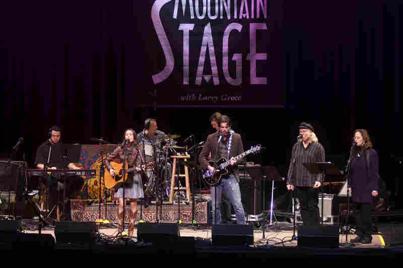 This is Charlie Faye's first appearance on Mountain Stage.