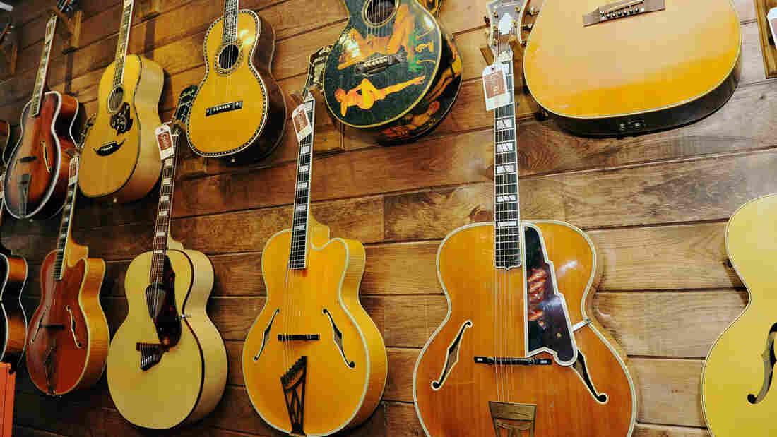 on the auction block the stradivarius of guitars npr. Black Bedroom Furniture Sets. Home Design Ideas