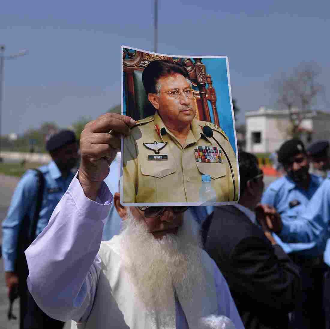 At Indictment, Pakistan's Musharraf Asserts His Innocence