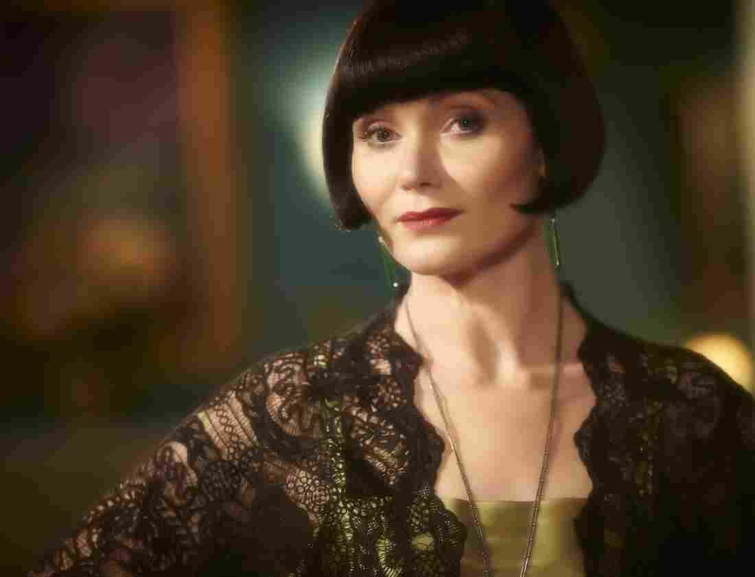 """Essie Davis has read about how Phryne is a """"hussy."""" She doesn't mind."""