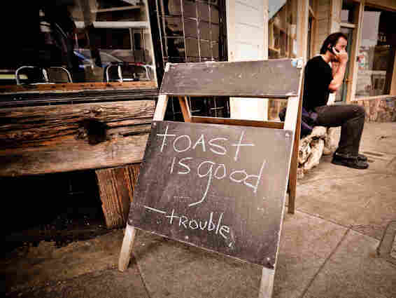 Trouble Coffee Company in San Francisco, where the toast craze all began.