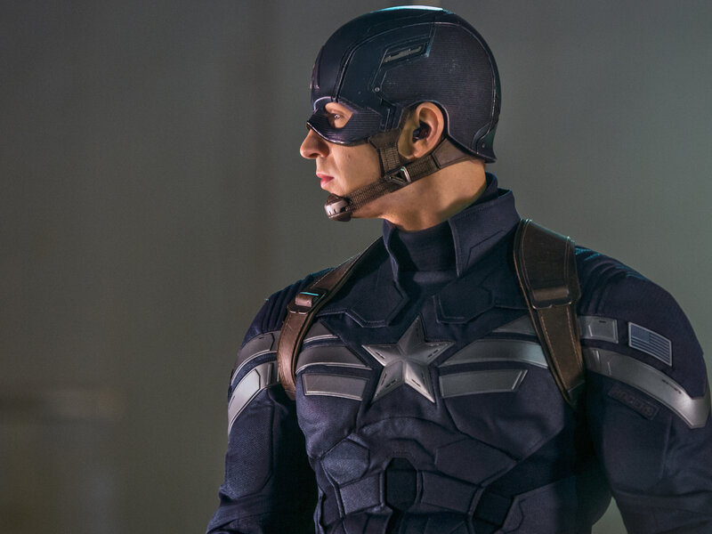 Captain America On The Potomac : NPR