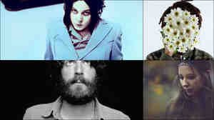 Clockwise from upper left: Jack White, Teebs, Lyla Foy, Ray LaMontagne