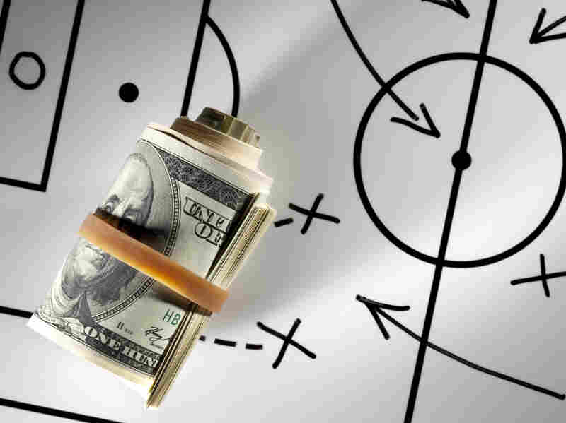 Paycheck Players: Love of the game may no longer be enough motivation for college athletes.