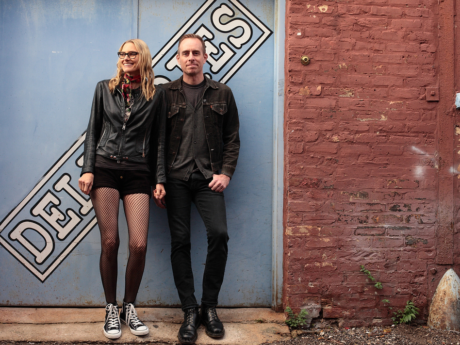 Aimee Mann and Ted Leo of The Both, whose self-titled debut album comes out April 15.