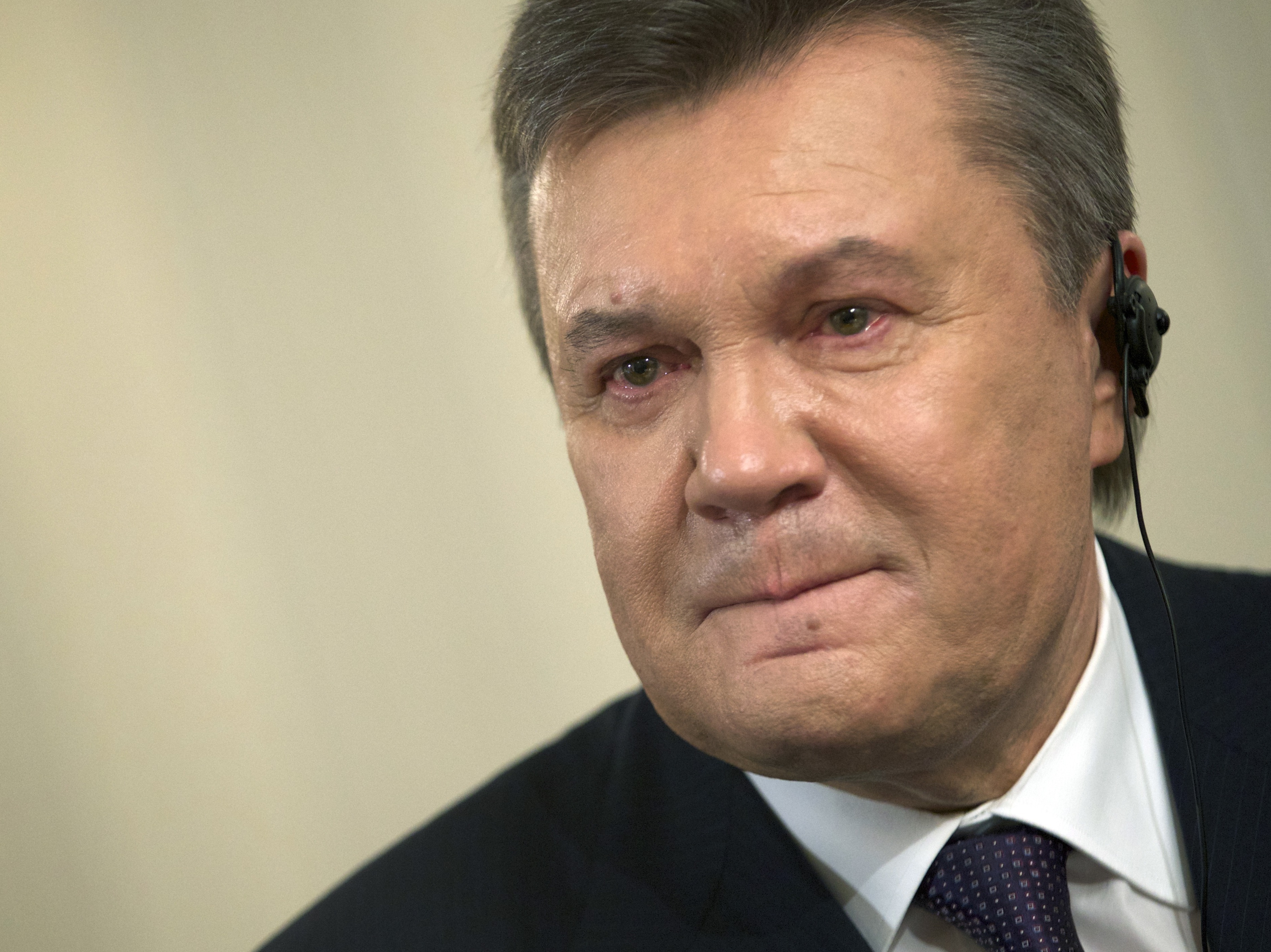 Yanukovych: 'I Was Wrong' To Ask Russian Troops Into Crimea