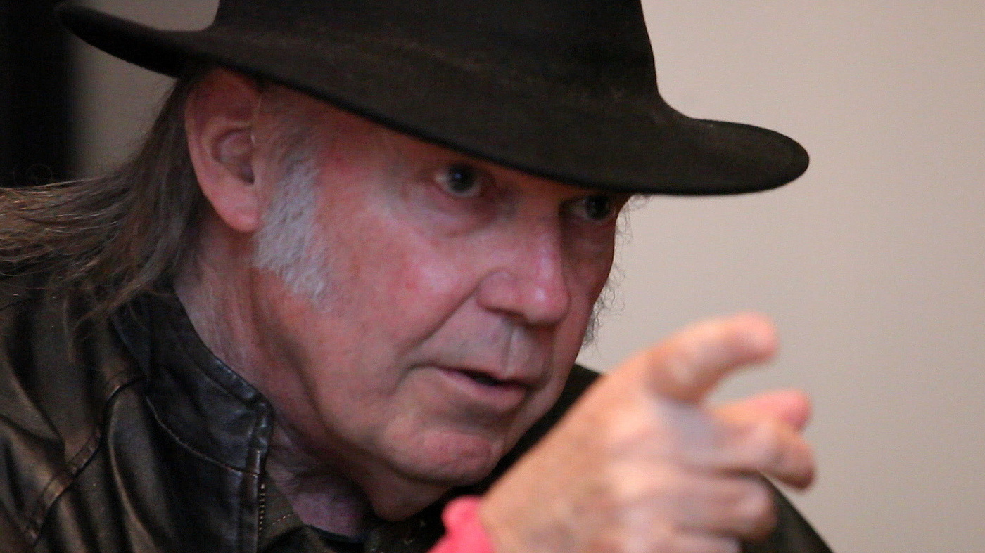 Neil Young Wants You To Truly Hear Music