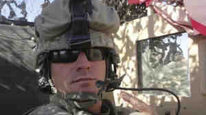 SPC Ivan Lopez is pictured in the Sinai Peninsula between 2007 and 2008 during his service with the 295th Infantry of the Puerto Rico National Guard in this undated handout photo.