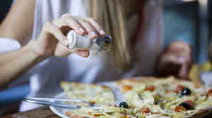 Consuming anywhere from about 2,600 milligrams up to almost 5,000 milligrams of sodium per day is associated with more favorable health outcomes, according to a study.
