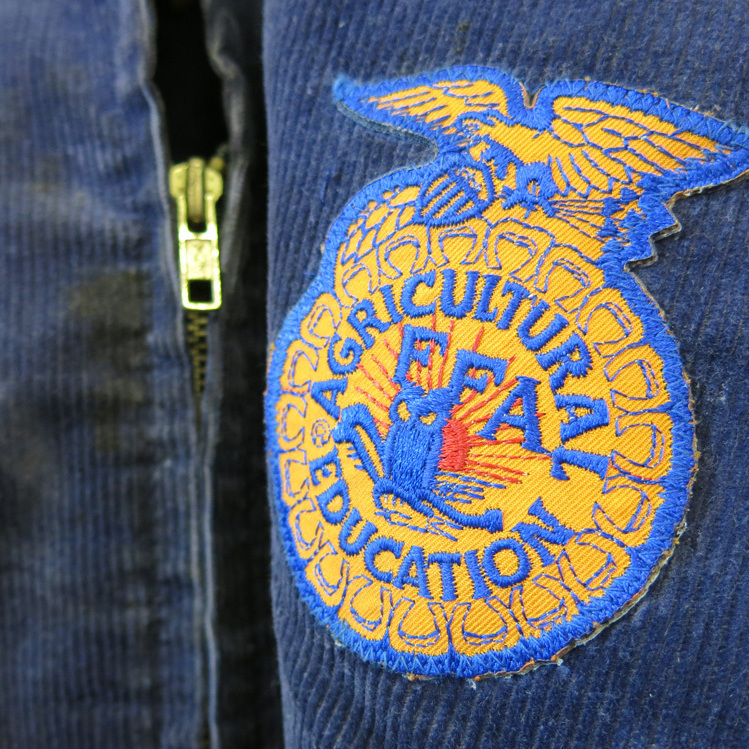 The blue corduroy jackets sported by high schoolers in FFA have been the signature look since its founding in 1928.