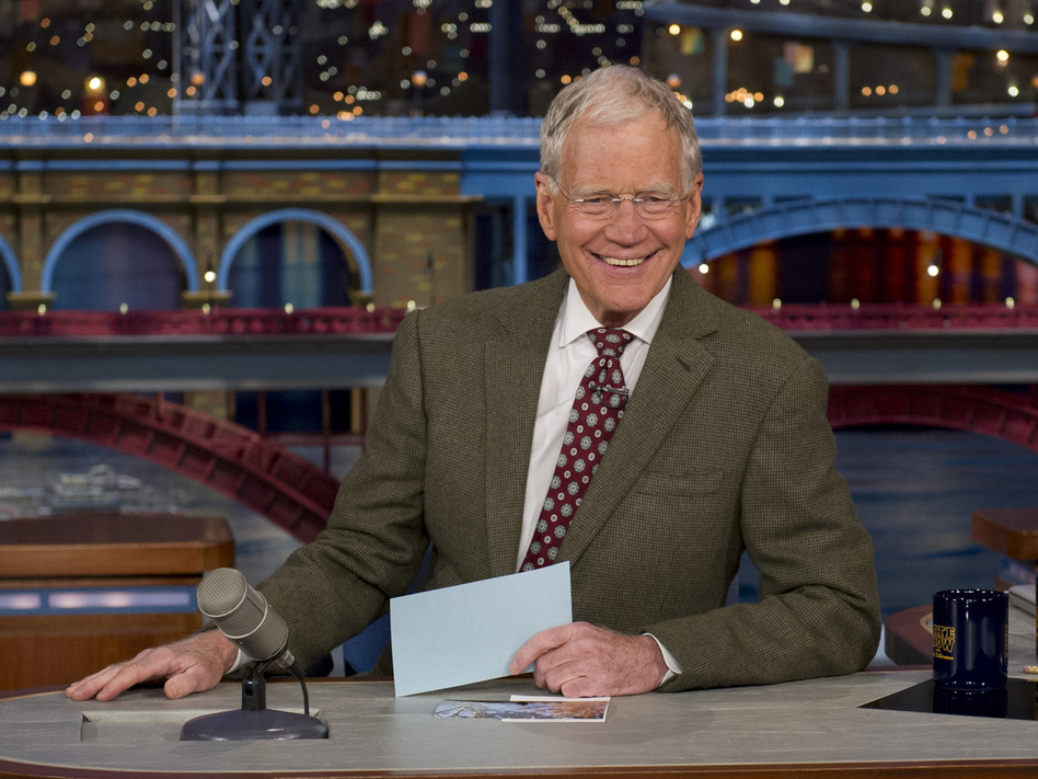 David Letterman announced his retirement on Thursday night, but Twitter got to it first. (Jeffrey R. Staab/CBS)